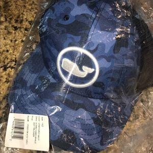Brand New Blue Camo Vineyard Vines Hat